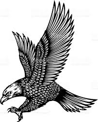 eagle tattoo stock vector art 163918119 istock