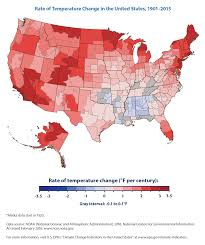 Map Of Red And Blue States by Climate Change Indicators U S And Global Temperature Climate