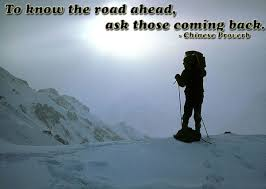 wise quotes to the road ahead