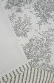 black and white toile crib bedding home beds decoration
