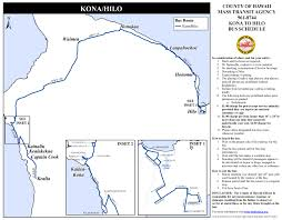 Waikiki Trolley Map Kona Hilo U2014 Hele On A Service Of The County Of Hawai U0027i Mass
