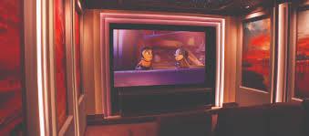 Home Theater Walls Serve Up Stunning Sunset Cinema Design Group - Home theater design group