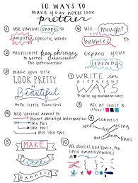 tips for prettier notes u2026 pinteres u2026