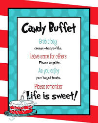 Dr Seuss Baby Shower Invitation Wording - dr suess sweet buffet i just like the wording for tags i have