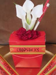 New Year Buffet Decoration by Chinese New Year Take Out Box Flower Arrangement The Hostess