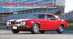 camaro the years chevrolet camaro through the years 1967 2017 goodguys