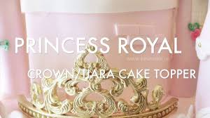 photo cake topper how to princess crown tiara fondant cake topper 12 30
