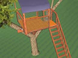 Simple Backyard Tree Houses by The Best Way To Build A Treehouse Wikihow