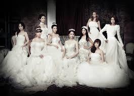 wedding dress korean 720p asians snsd generation musicians singers dresses white