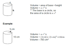 volume formulas with examples