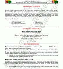 Preschool Teacher Resume Template Download Teacher Resume Sample Haadyaooverbayresort Com