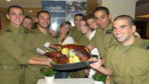 american lone soldiers in israel celebrate thanksgiving the