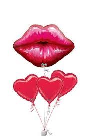 valentines balloon delivery big kissey balloons valentines balloon delivery