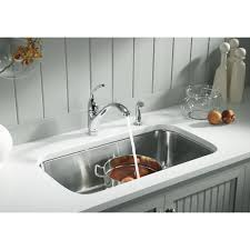 Faucetcom NA In Stainless Steel By Sterling - Sterling kitchen sinks