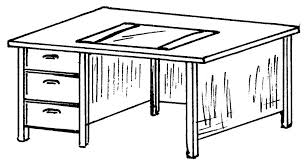 dessin de bureau table d école dessin sellingstg com
