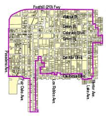 pasadena ca map central district specific plan planning and community
