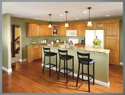 kitchen wall colors for wood cabinets kitchen wall colors with light wood cabinets and slim table