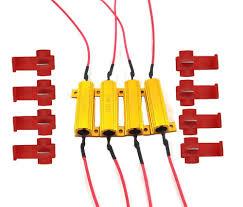 amazon com cutequeen trading 4pcs 50w 6ohm led load resistors for