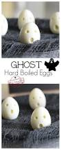ghost hardboiled eggs for a healthy halloween kid u0027s breakfast treat