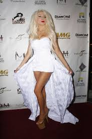how are female celebrities dealing with thinning asg ing hair courtney stodden flashes her knickers in a sexy wedding dress in