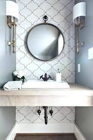 bathroom accent wall ideas accent wall in bathroom michaelfine me