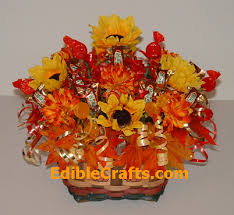 thanksgiving craft ideas flower and basket
