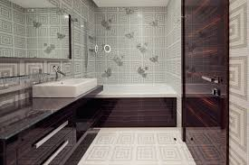 designer bathroom exquisite modern bathroom wallpaper designs photo of new on with