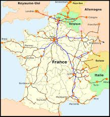 Lille France Map by Carte Du Reseau De Chemins De Fer 50dcde6b Jpg