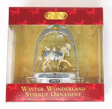 breyer 2017 stirrup ornament winter