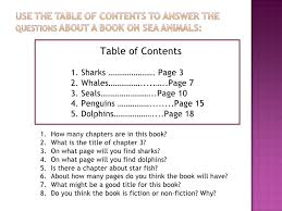 How To Do A Table Of Contents Using A Table Of Contents