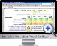 excel business valuation templates and solutions