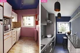 am駭agement cuisine en longueur comment aménager une cuisine en longueur kitchens and house