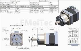 new nema 17 geared stepper motor for 3d printer reprap prusa