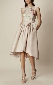 embroidered full skirt dress karen millen