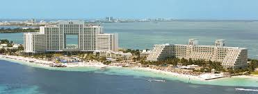 a collection of riu hotels and resorts in cancun mexico