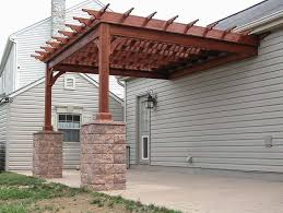 Pergola With Shade by Country Lane Woodworking Treated Wood Shade Pergola Quality Pa