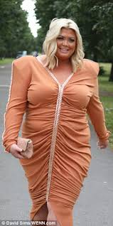 gemma collins u0027s dress is mocked with memes on twitter daily mail