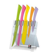Coloured Kitchen Knives Set Love Colour Spring 5pc Knife Set Heap Seng Group Pte Ltd