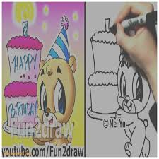 birthday cards new how to draw a happy birthday card how to draw