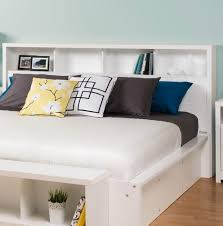 king size headboard with storage plans home design ideas