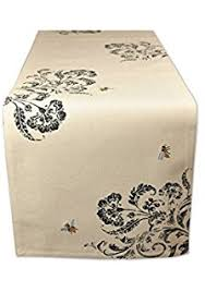 waterford table linens damascus amazon com waterford damascus table runner model no