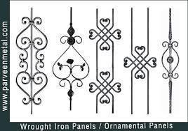wrought iron components wrought iron parts amoy ironart fence