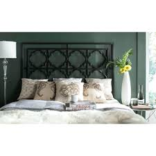 headboards cal king white metal headboard gothic metal king size
