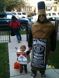 funny halloween costumes here u0027s a funny father and son costu