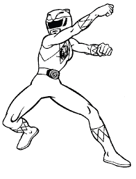 printable power ranger coloring pages coloring