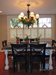 Kitchen Chandelier Decorating Your Chandelier For Christmas Becolorful