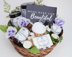 spa gift baskets for women spa gift basket etsy