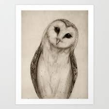 The Owl Barn Gift Collection The Owl U0027s 3 Art Print By Isaiahstephens Society6