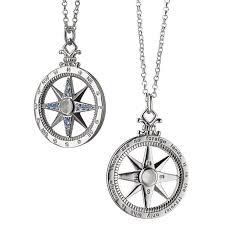 necklace pendant charm images Monica rich kosann global compass travel charm necklace pendant in jpg