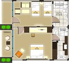 Family Suite Room Bali Rani Hotel - Family room layout